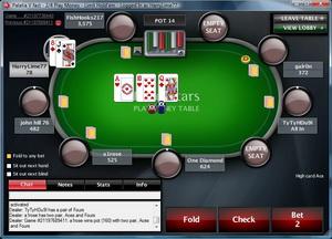 Poker Stars игровой стол